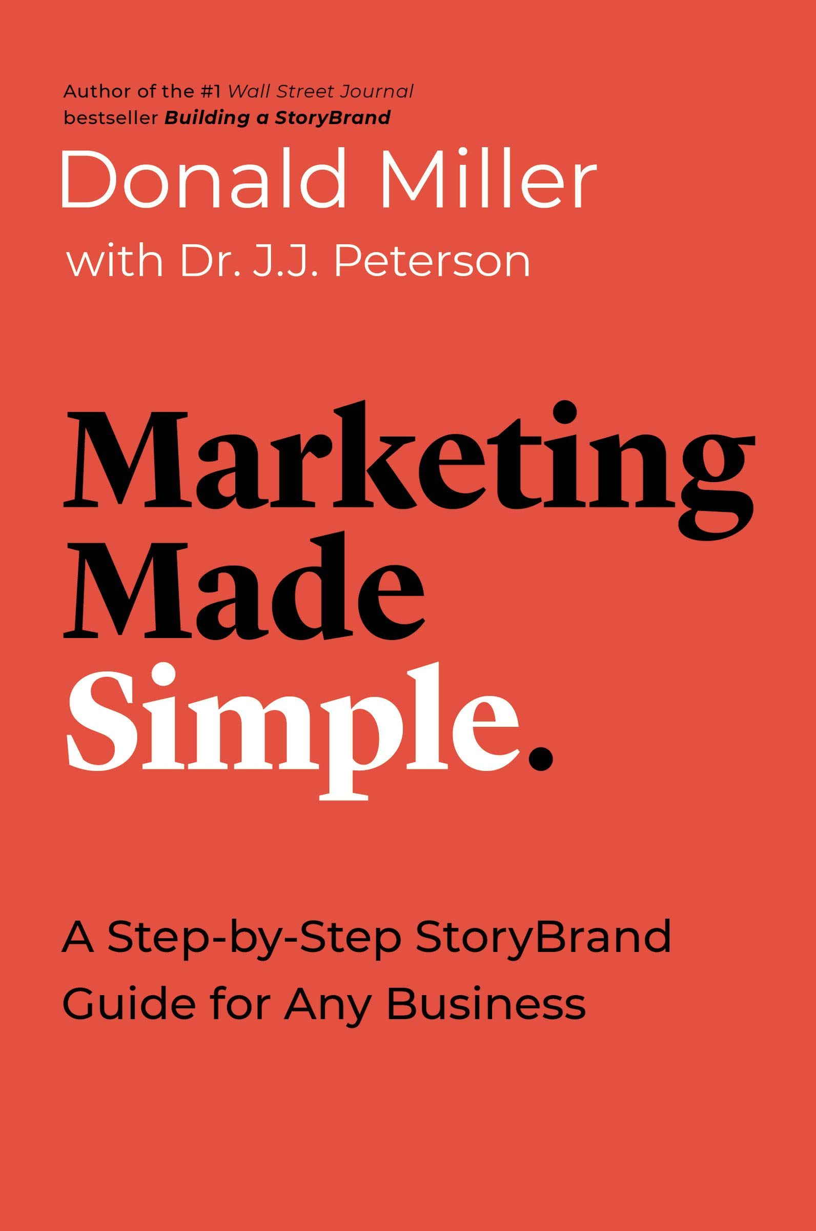 Marketing Made Simple Book by Donald Miller