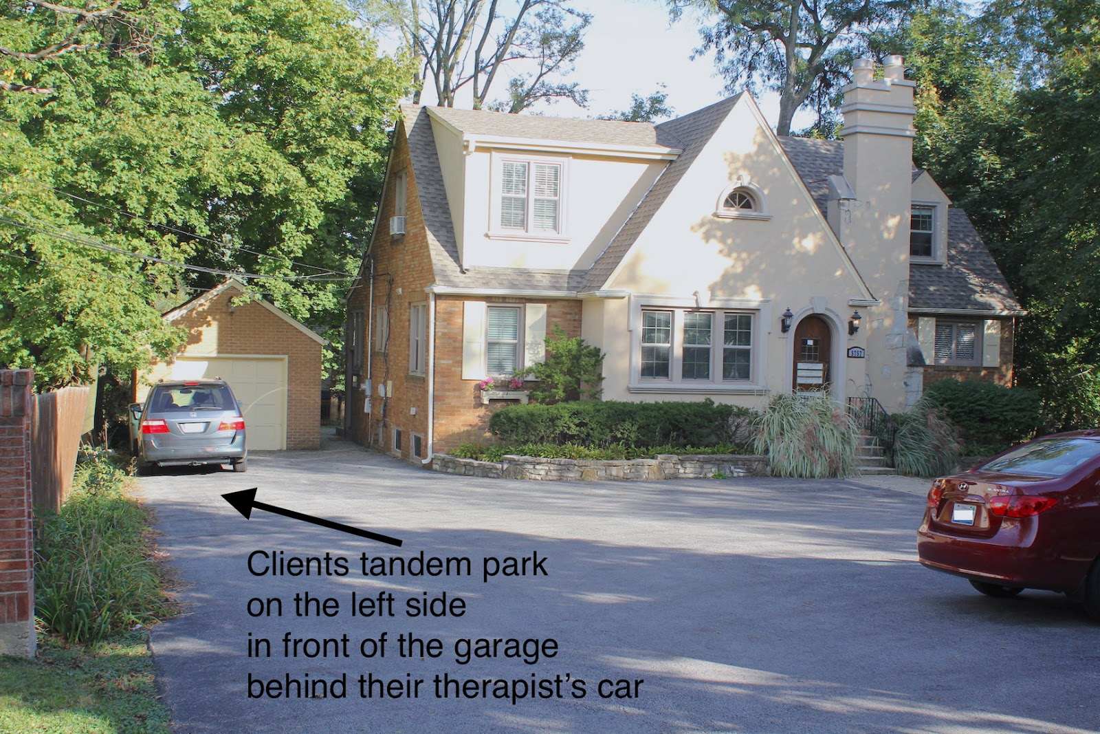 Tandem Parking at Kid Matters Counseling