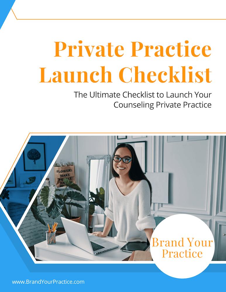 Private Practice Checklist Cover